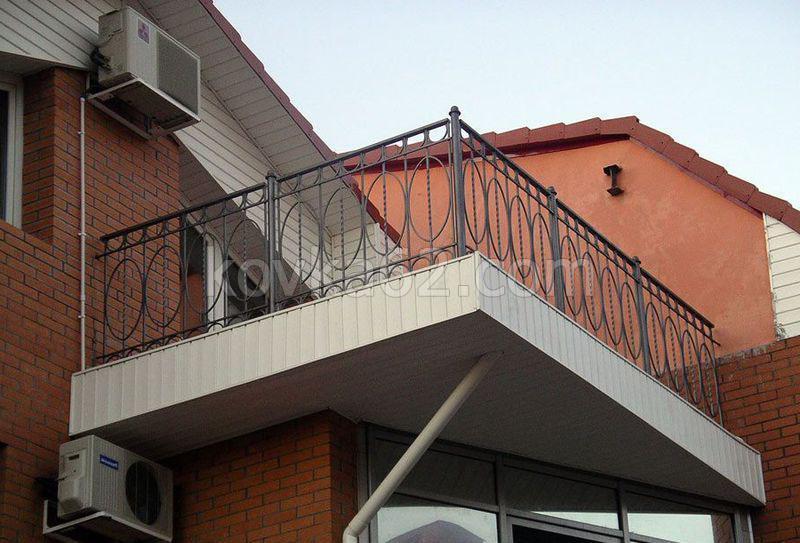 """Балконные ограждения / """"арабеска"""" - кованые элементы и издел."""